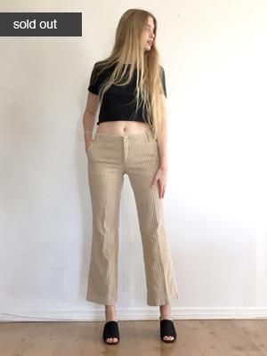 Flare Pants  $30.00