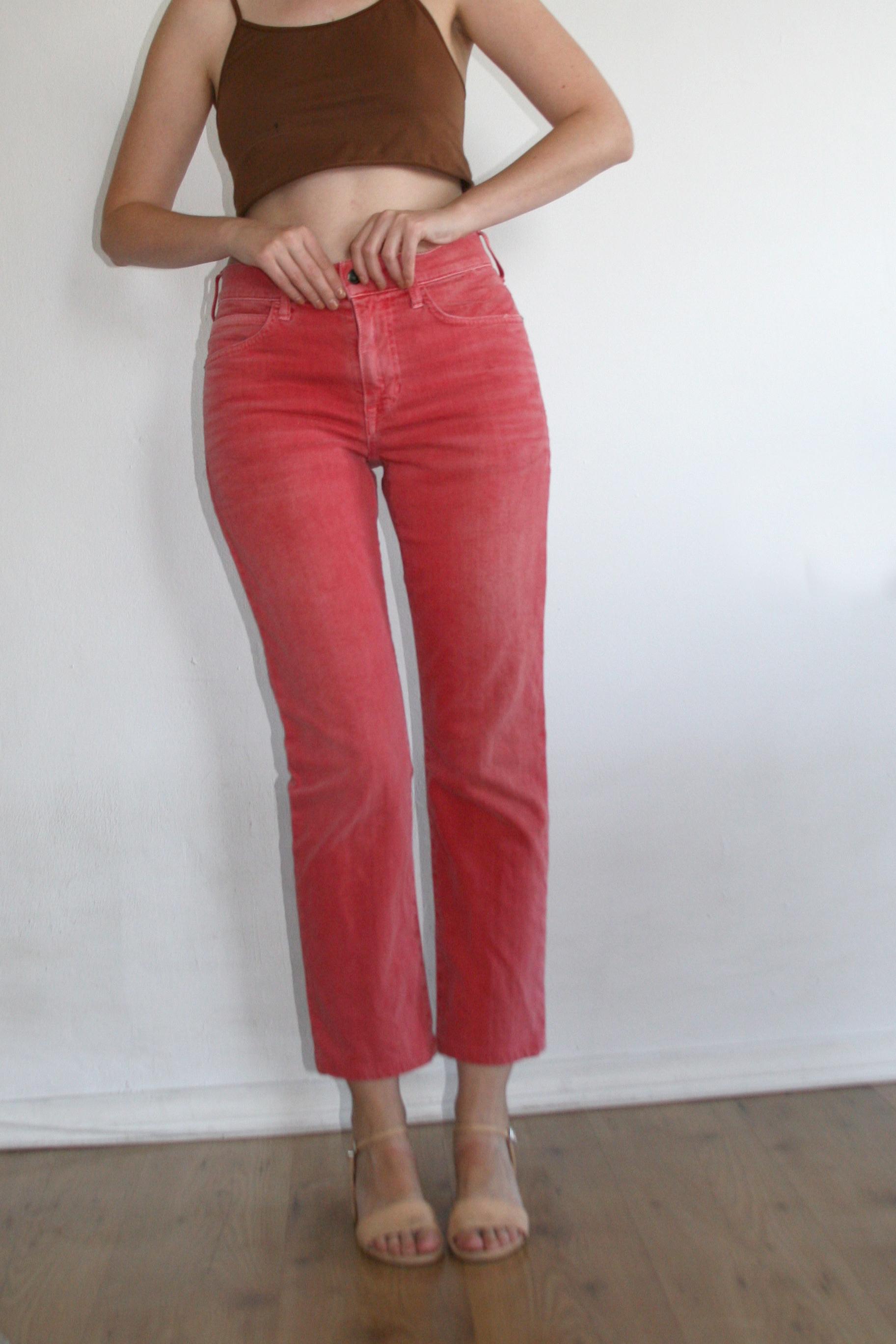 high waist jeans   $40.00