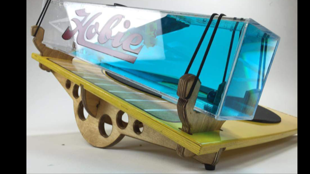 Design and Fabrication - Acrylic, Wood, Rubber (Flat Pack)