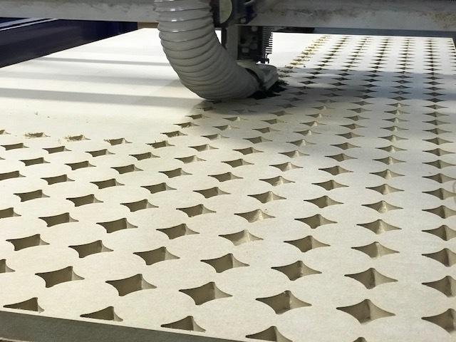 3D Textured wall panels