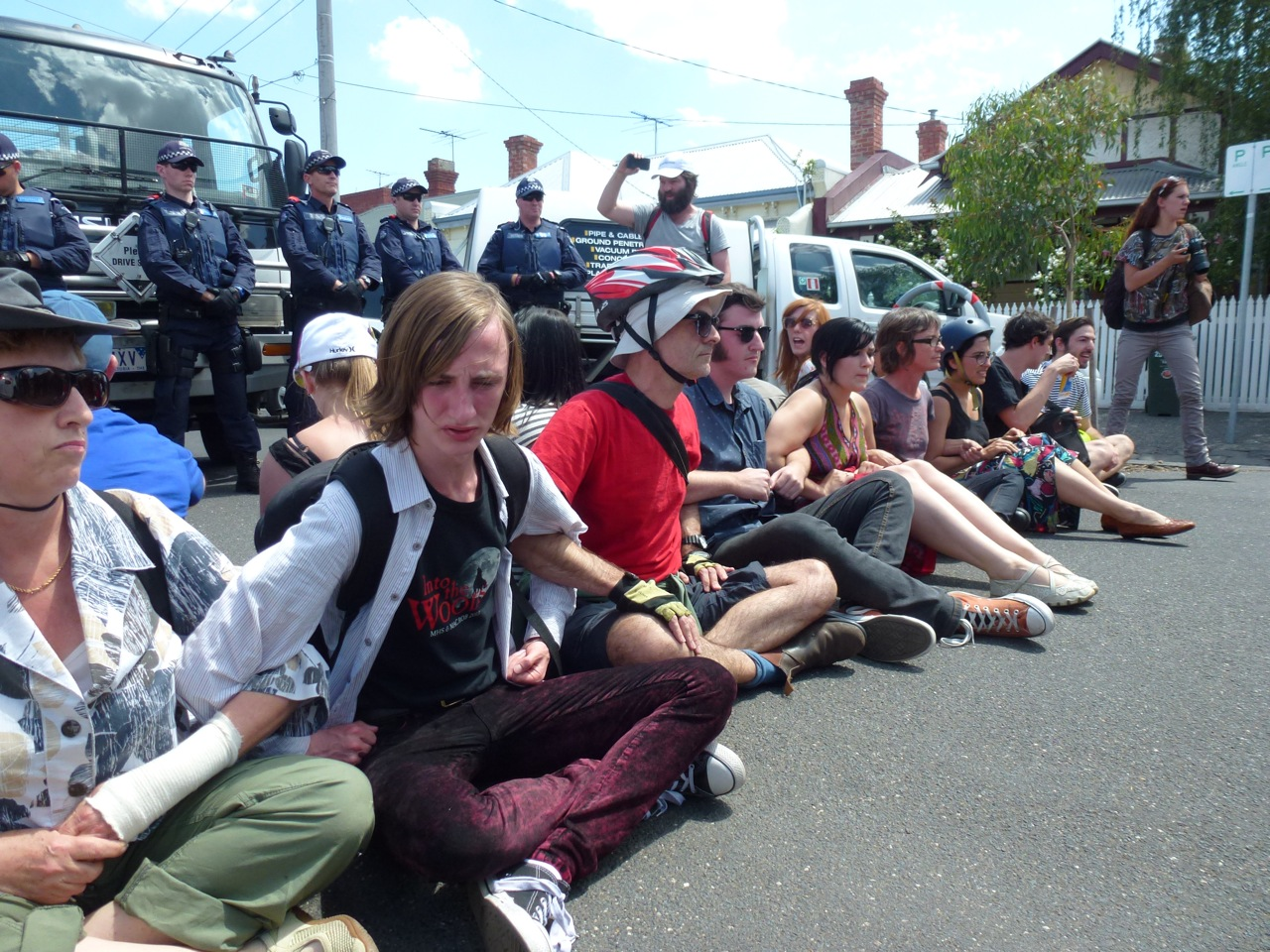 Image 2 from From the feature article entitled 'The Silencing Act: the East-West Tunnel Protests'.