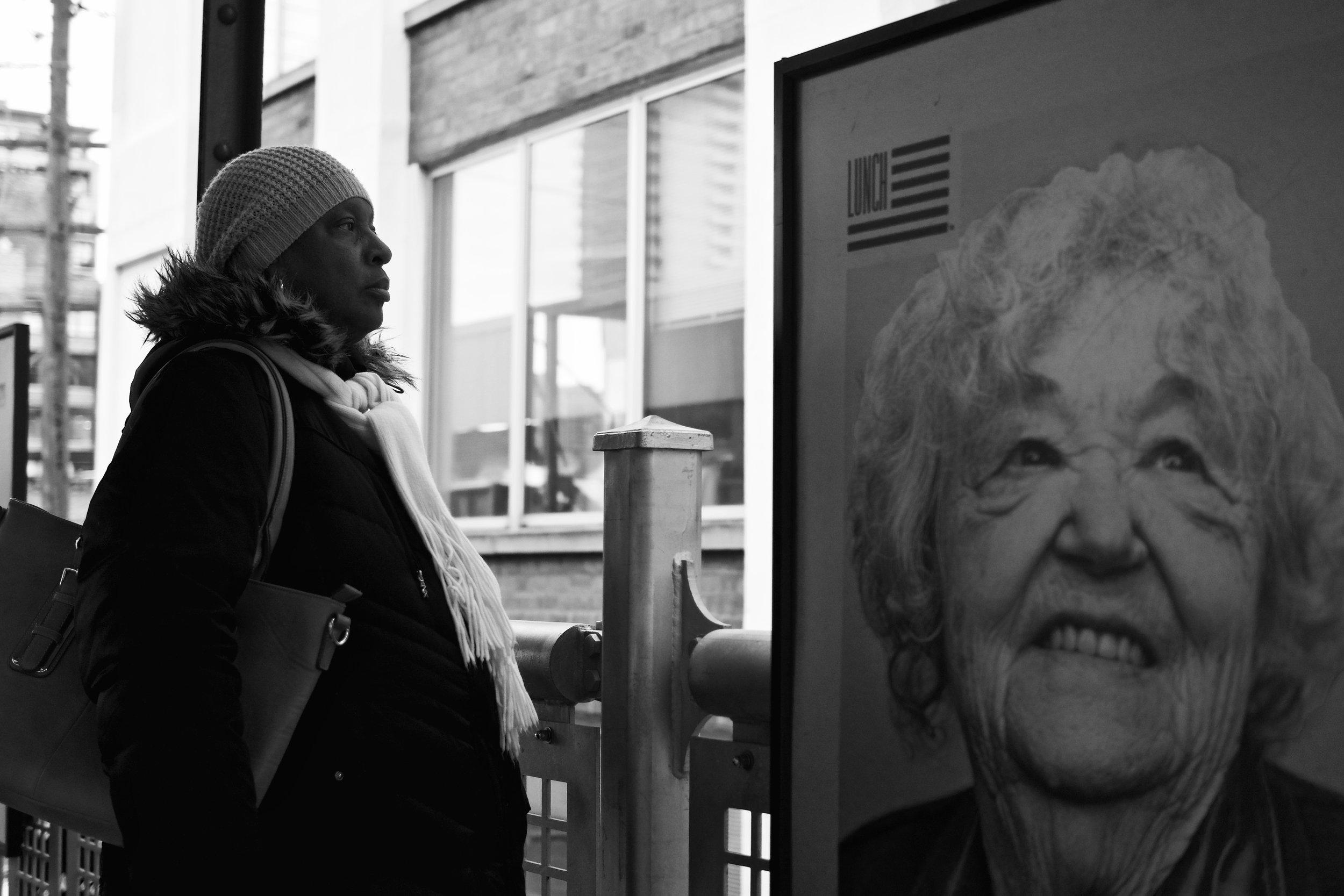 Two Ladies, Chicago, 3/9/2017