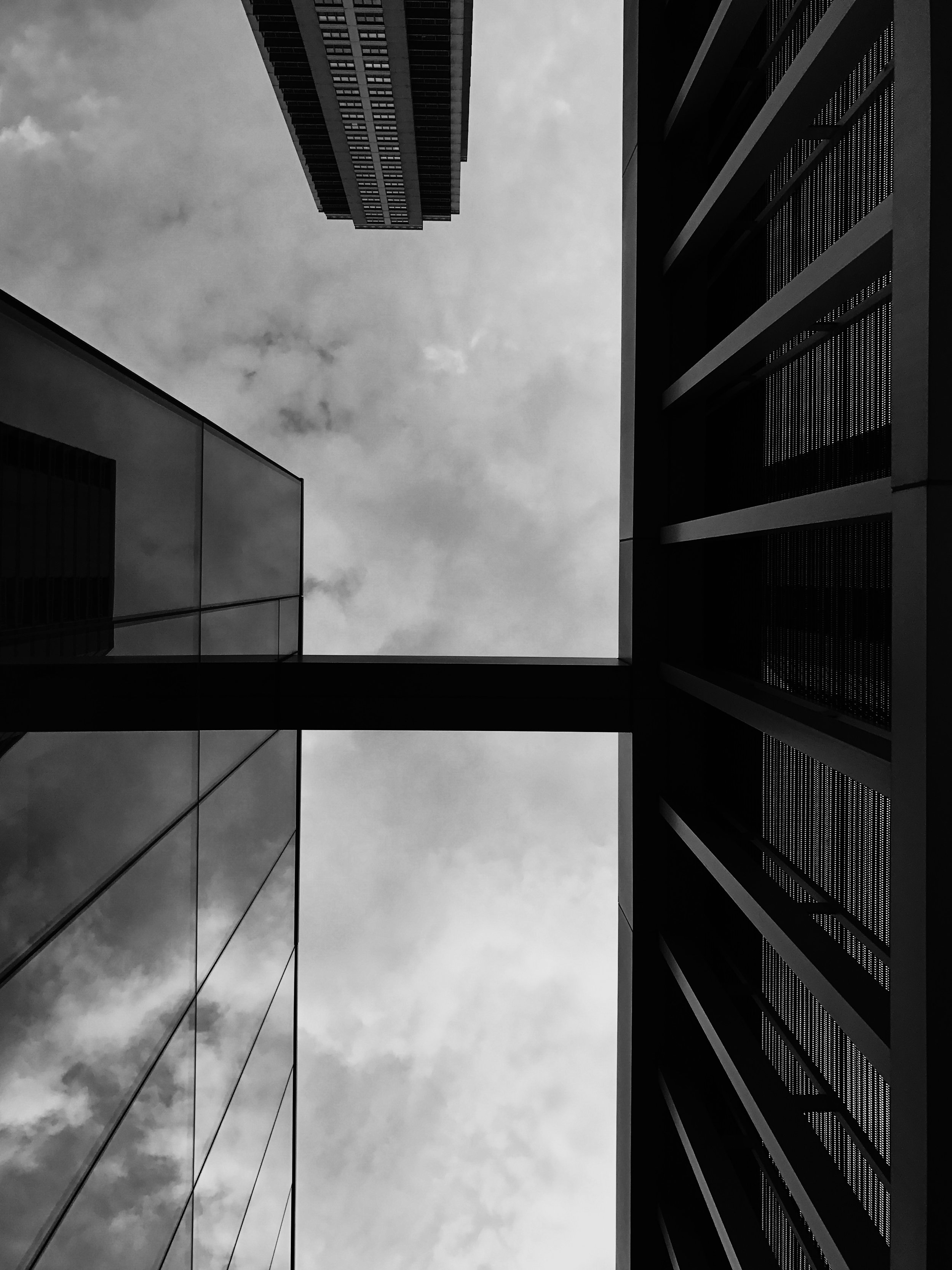 Two Buildings, Chicago, 6/17/2017