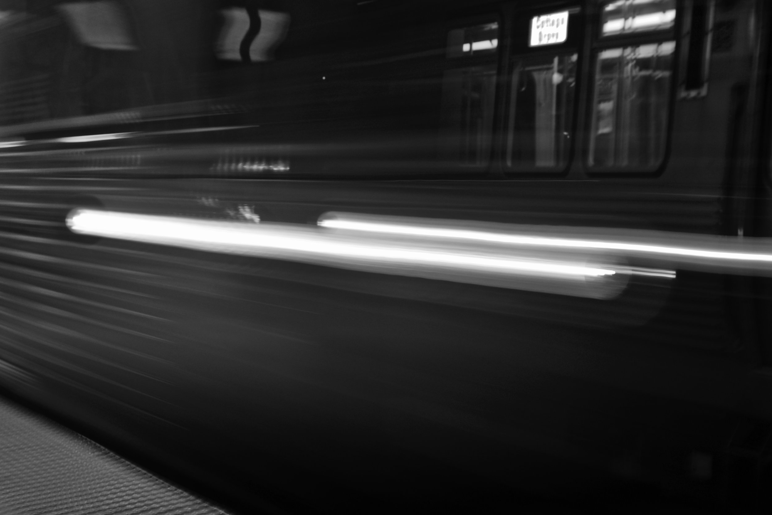 Train, Chicago, 8/15/2017