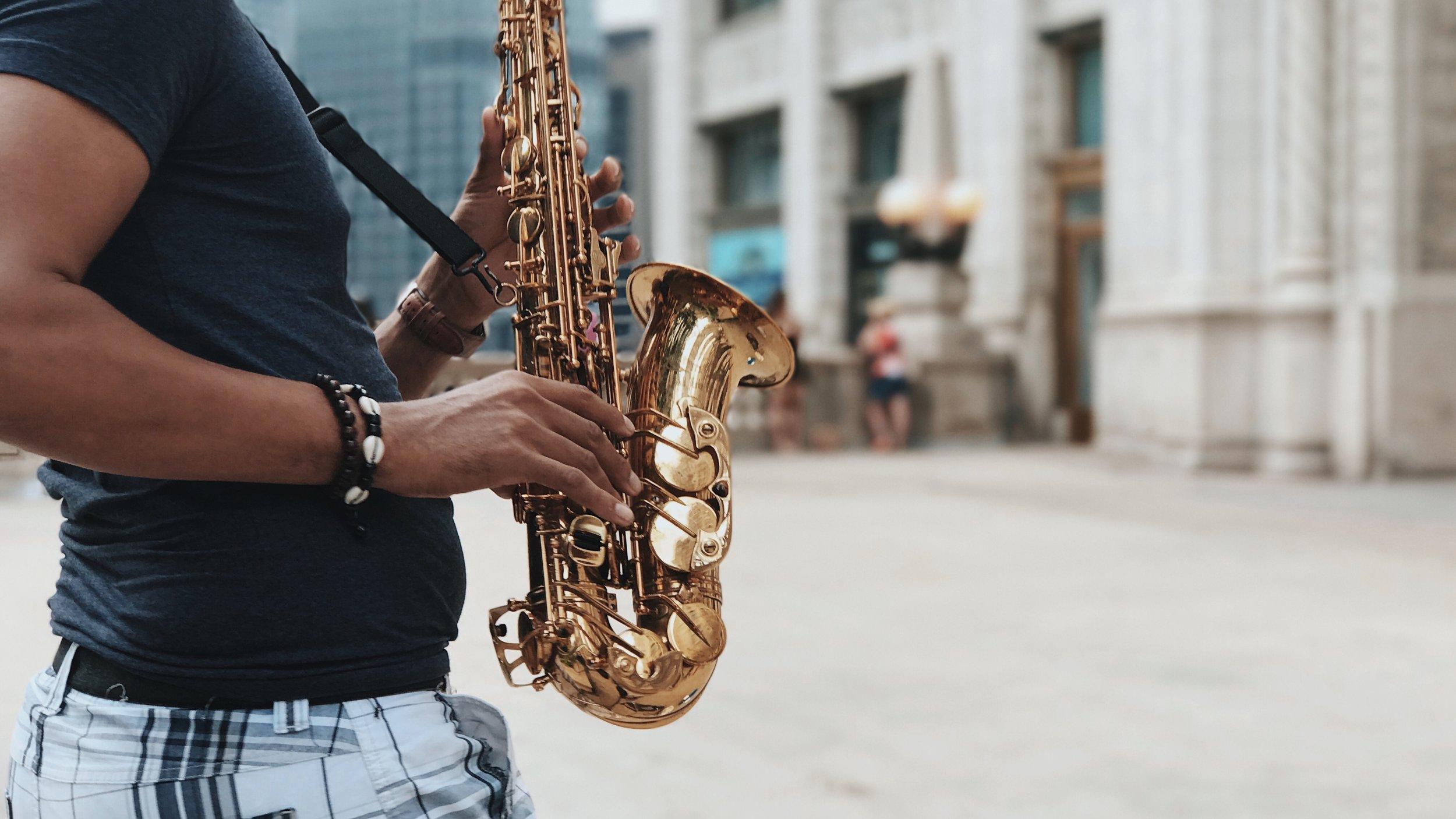 Saxophone, Chicago, 9/17/2017