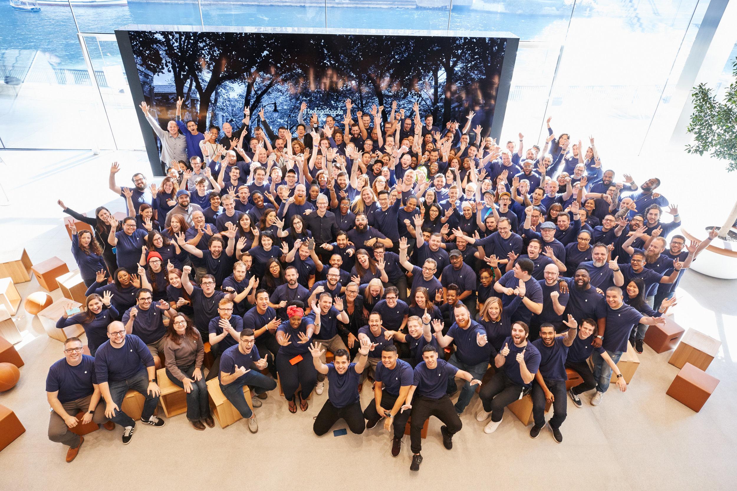 Photo curtesy of Apple, Inc.