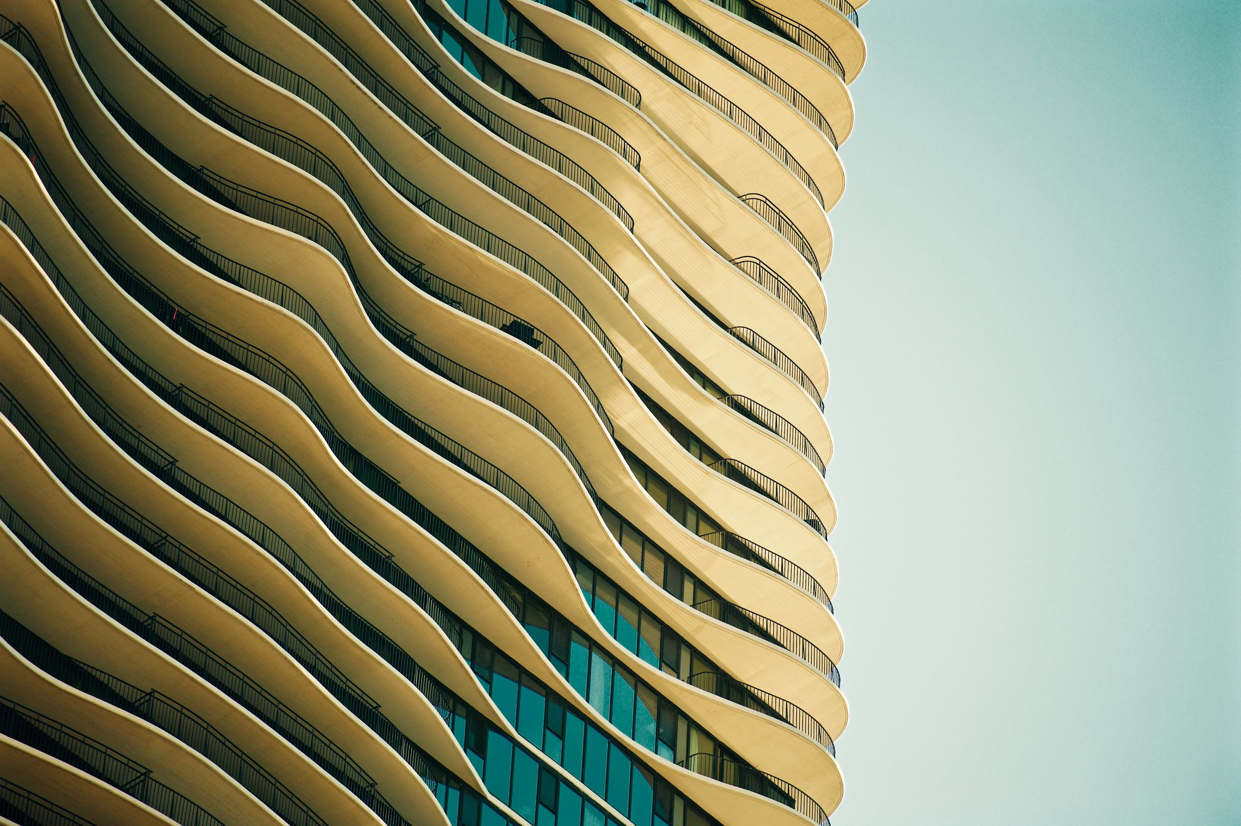 Gold and Aquamarine, Chicago, 2015