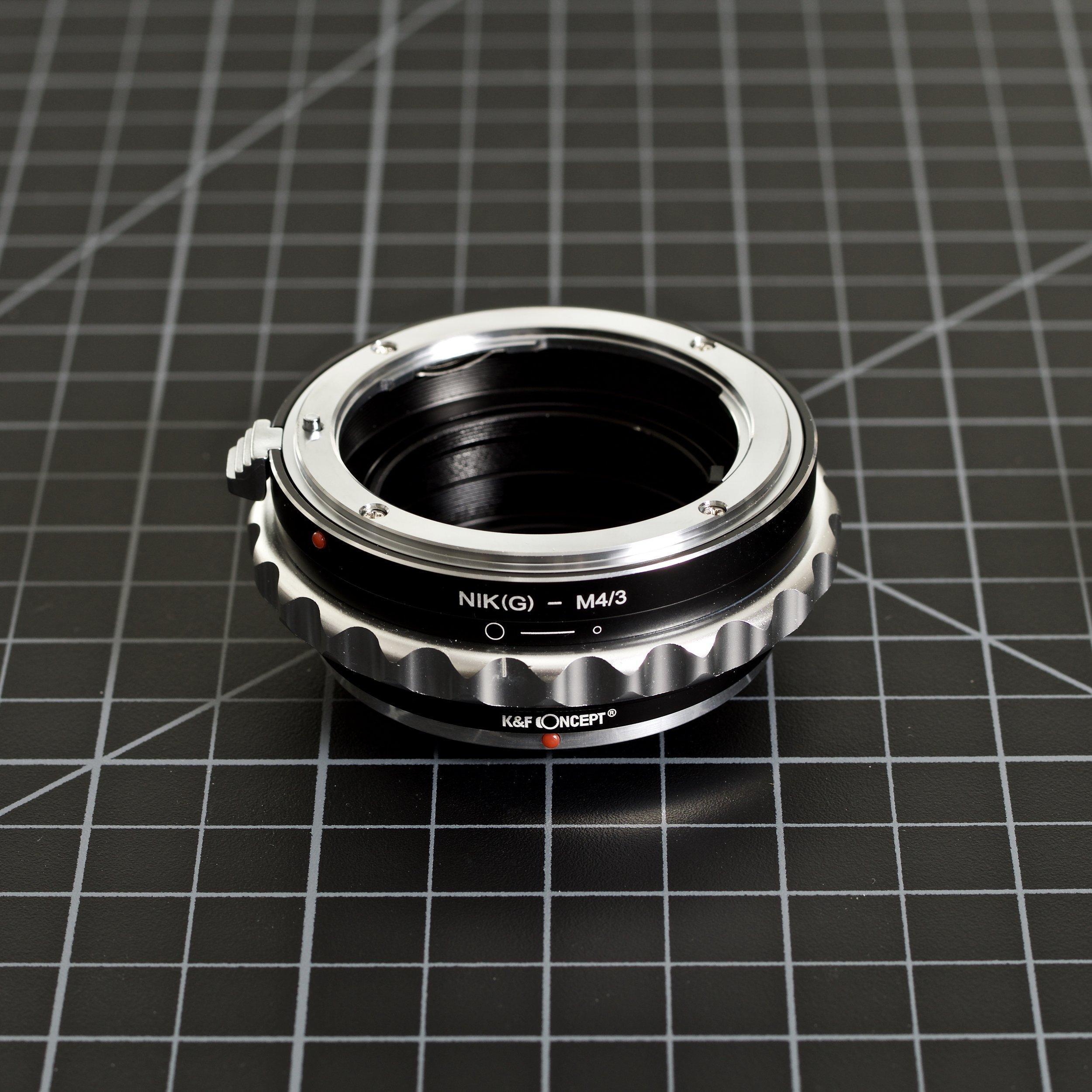 Nikon G (F Mount) to Micro Four Thirds