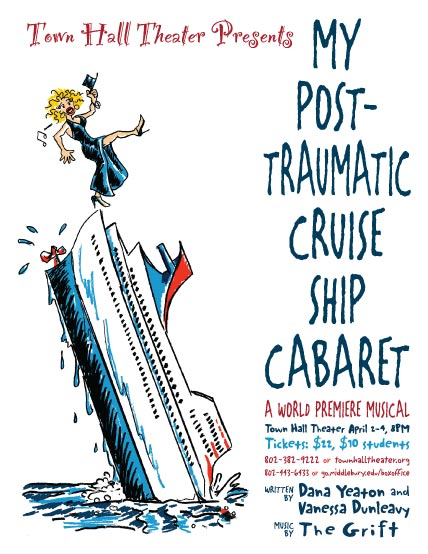"""My Post Traumatic Cruise Ship Cabaret"" Poster"