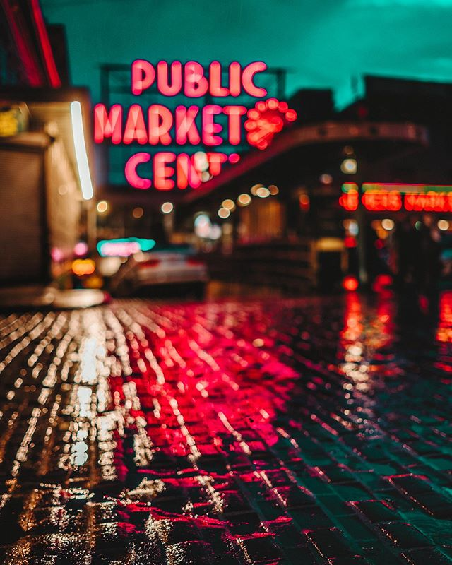 🔮 I'm ready for the rain ☔️ 📍 Pike Place Market