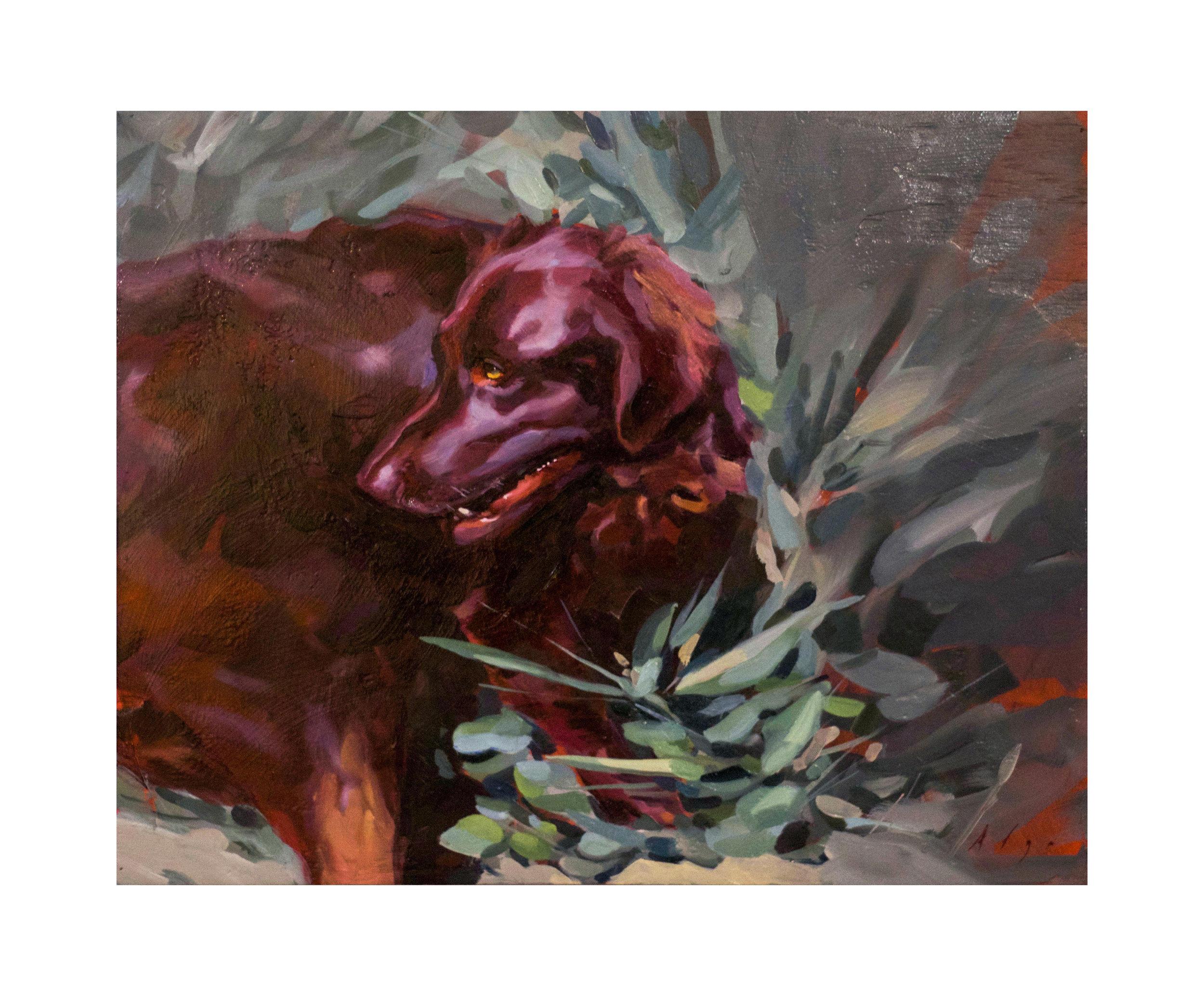 Viryachev, Ilya - Dog with a Big Heart_16x20_oilonwood_1000.jpg
