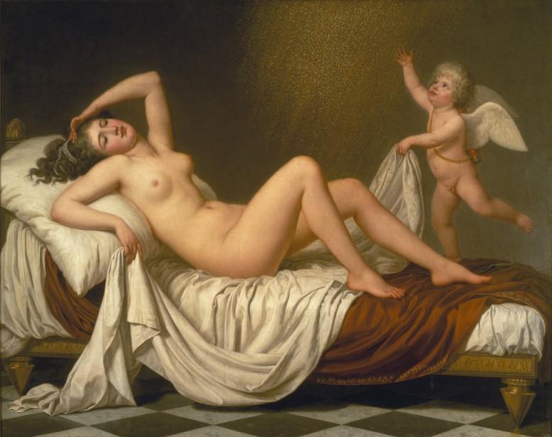 Adolf Ulrik Wertmüller: Danaë och guldregnet. NM 1767