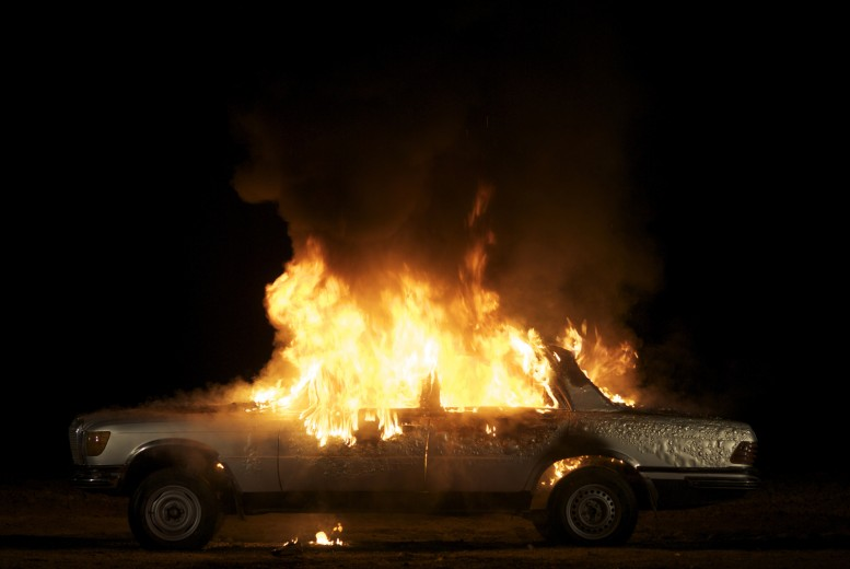 Superflex_Burning Car_2008
