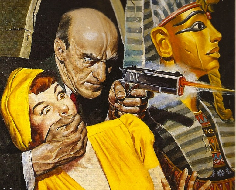 blood-on-my-doorstep_Pulp Art-The_Robert_Lesser_Collection