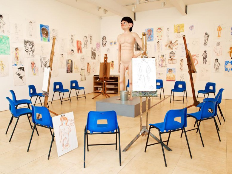 David Shrigley- Life and Life Drawing _ national gallery of victoria
