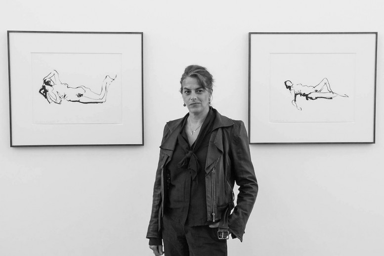 Tracey Emin - 'The Last Great Adventure is You' at White Cube, Bermondsey, London, Britain, 06 Oct 2014