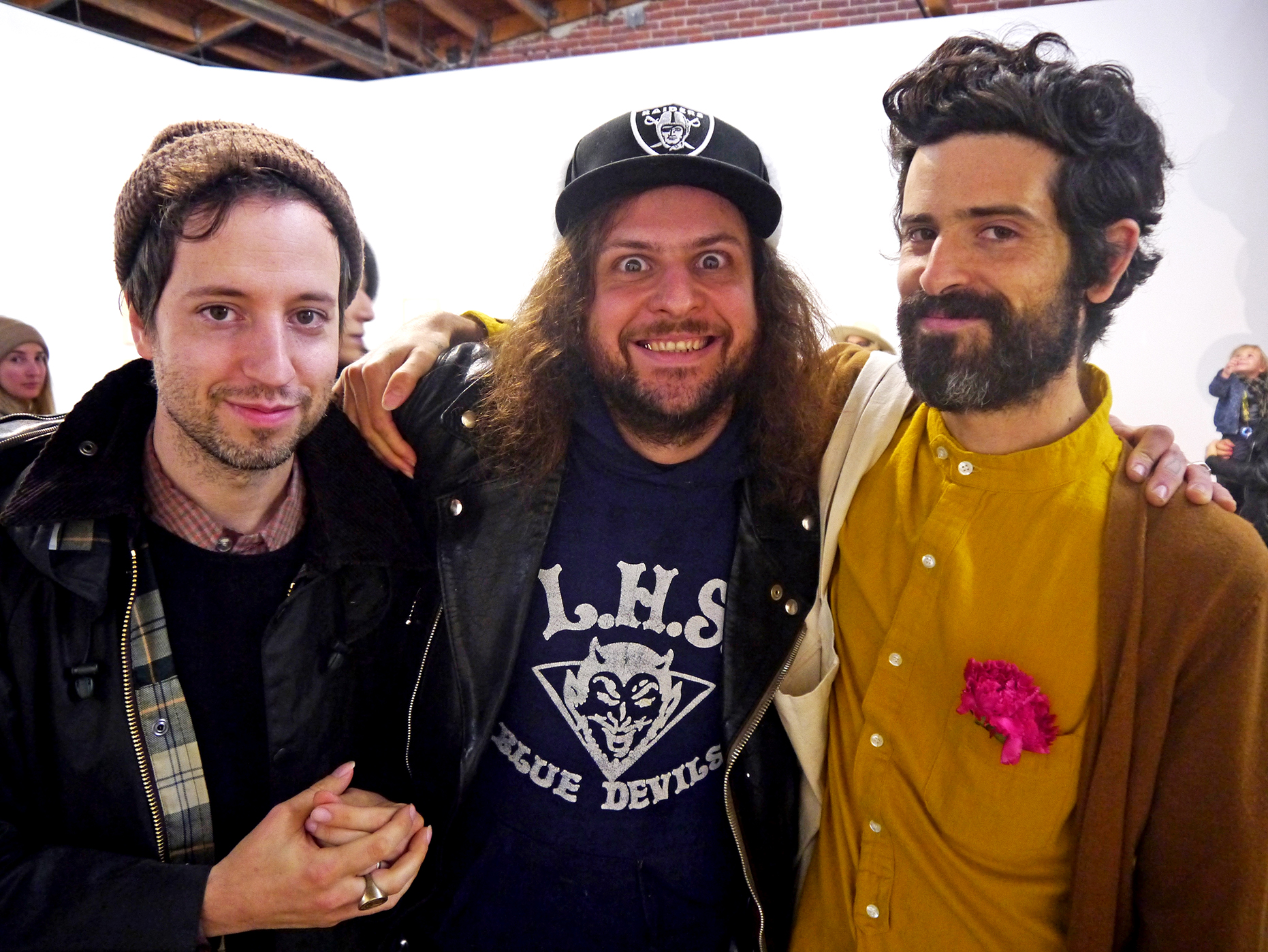 Josiah Steinbrick, Friend, and Devendra Banhart