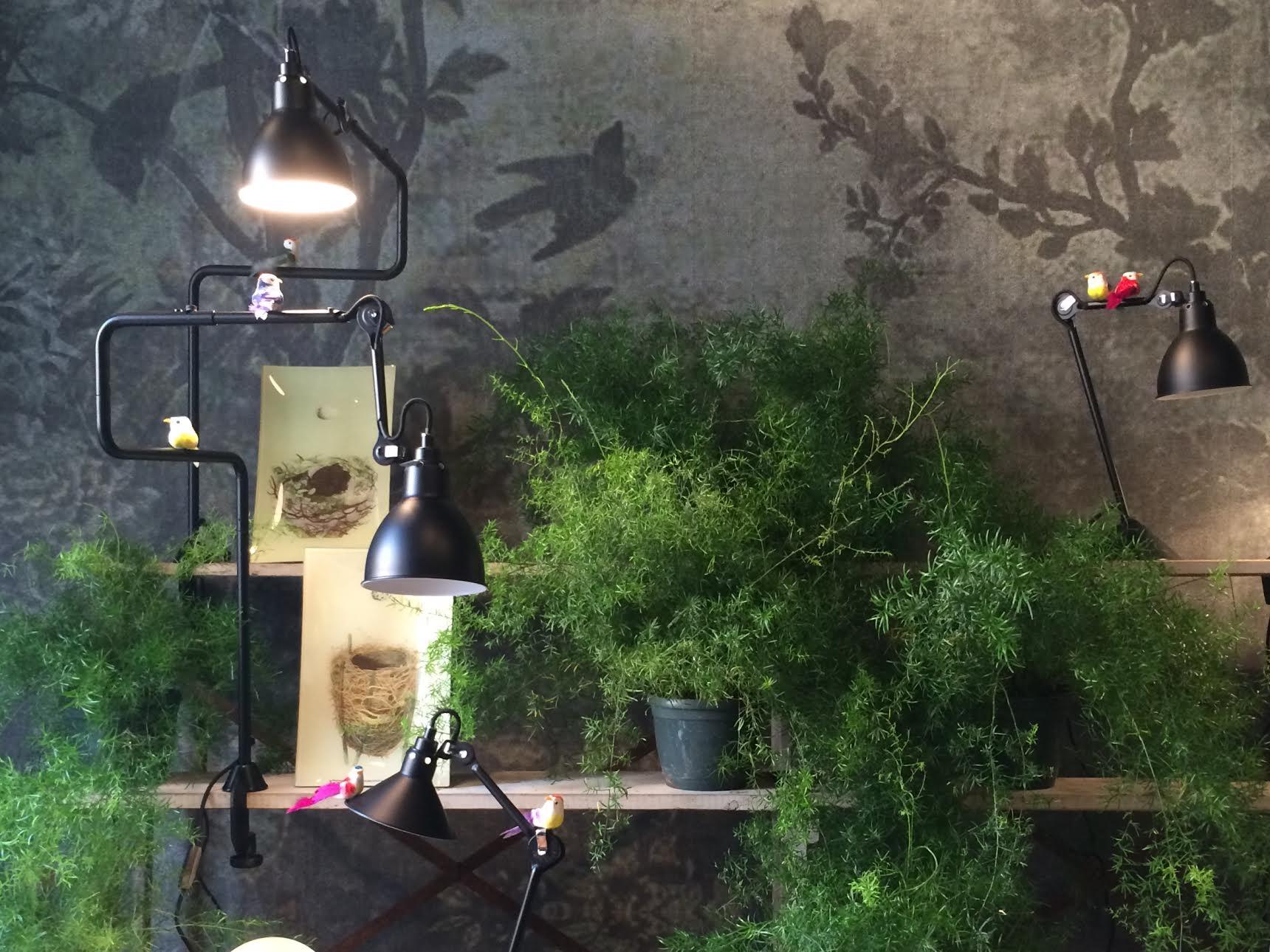 Lampe Gras, Wall&Decò wallpaper at RAW, via Palermo
