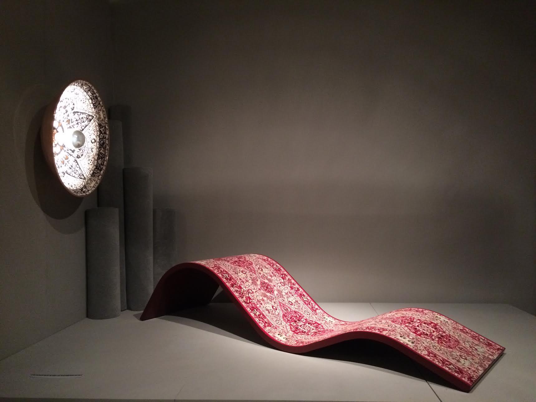 Lee Broom / Carpetry chaise longue