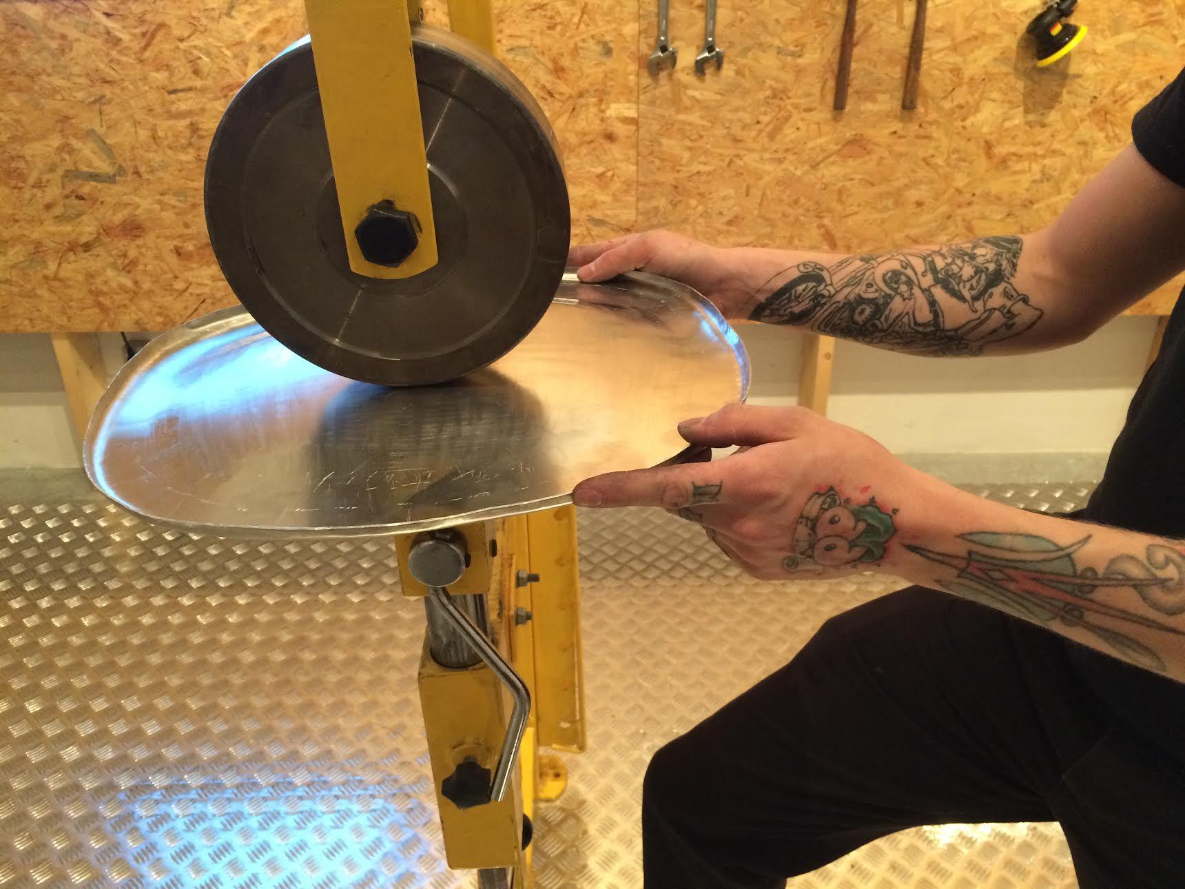 Making of Jasper Morrison's Handmade Chair