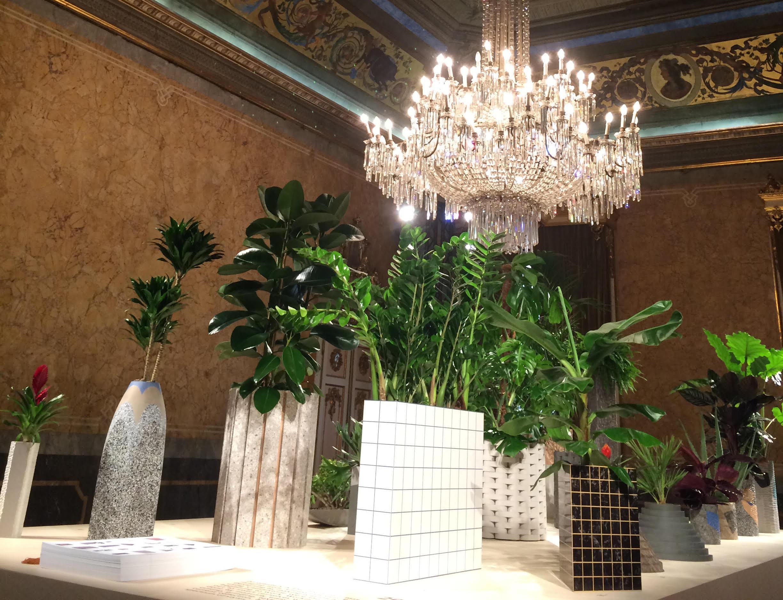 Movements, an interactive installation by London- based designer Philippe Malouin @ Palazzo Serbelloni