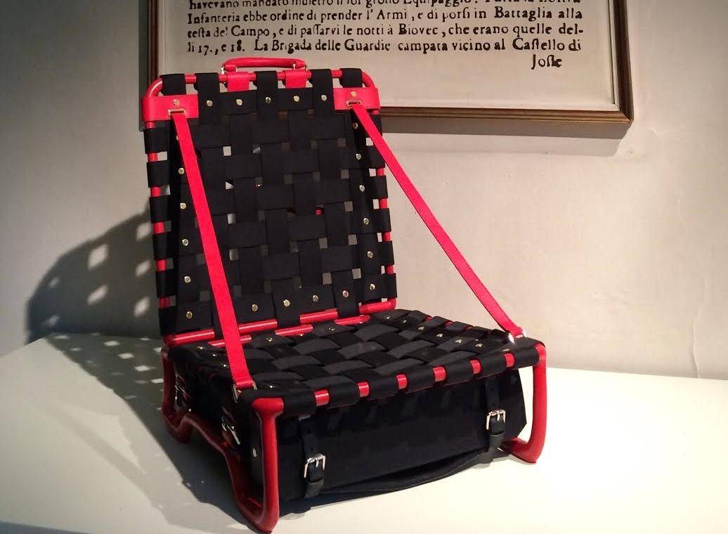 Marteen Bass briefcase/beach chair