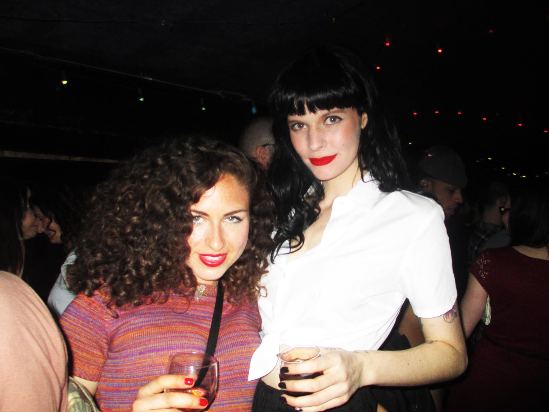 Amy Louise Wilde and Laura Weyl