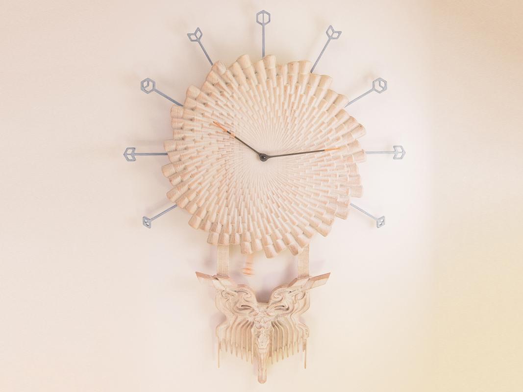 Burst of Desire Clock