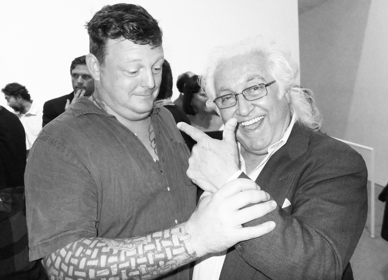 Urs Fischer and Tony Shafrazi
