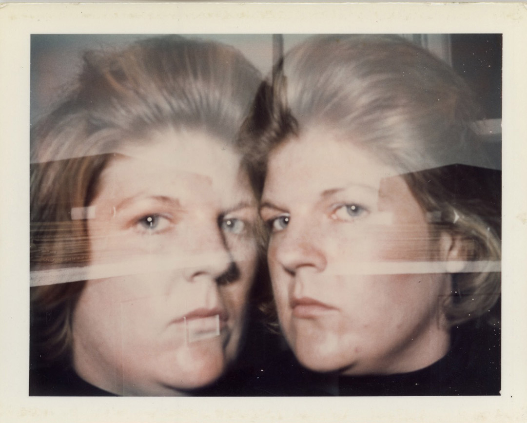 Brigid Berlin Untitled (Self-Portrait Double Exposure), ca. 1971-1973