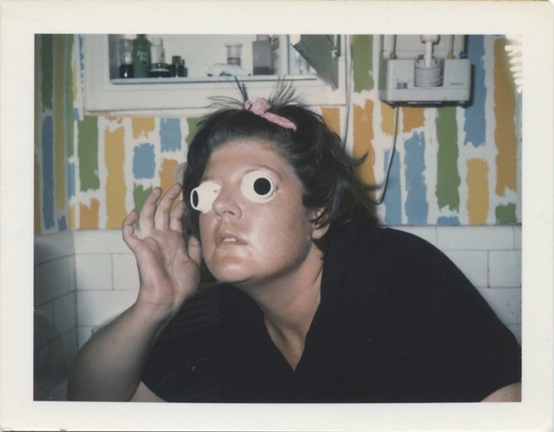 Untitled (Self-Portrait with Eyes), ca. 1971-1973