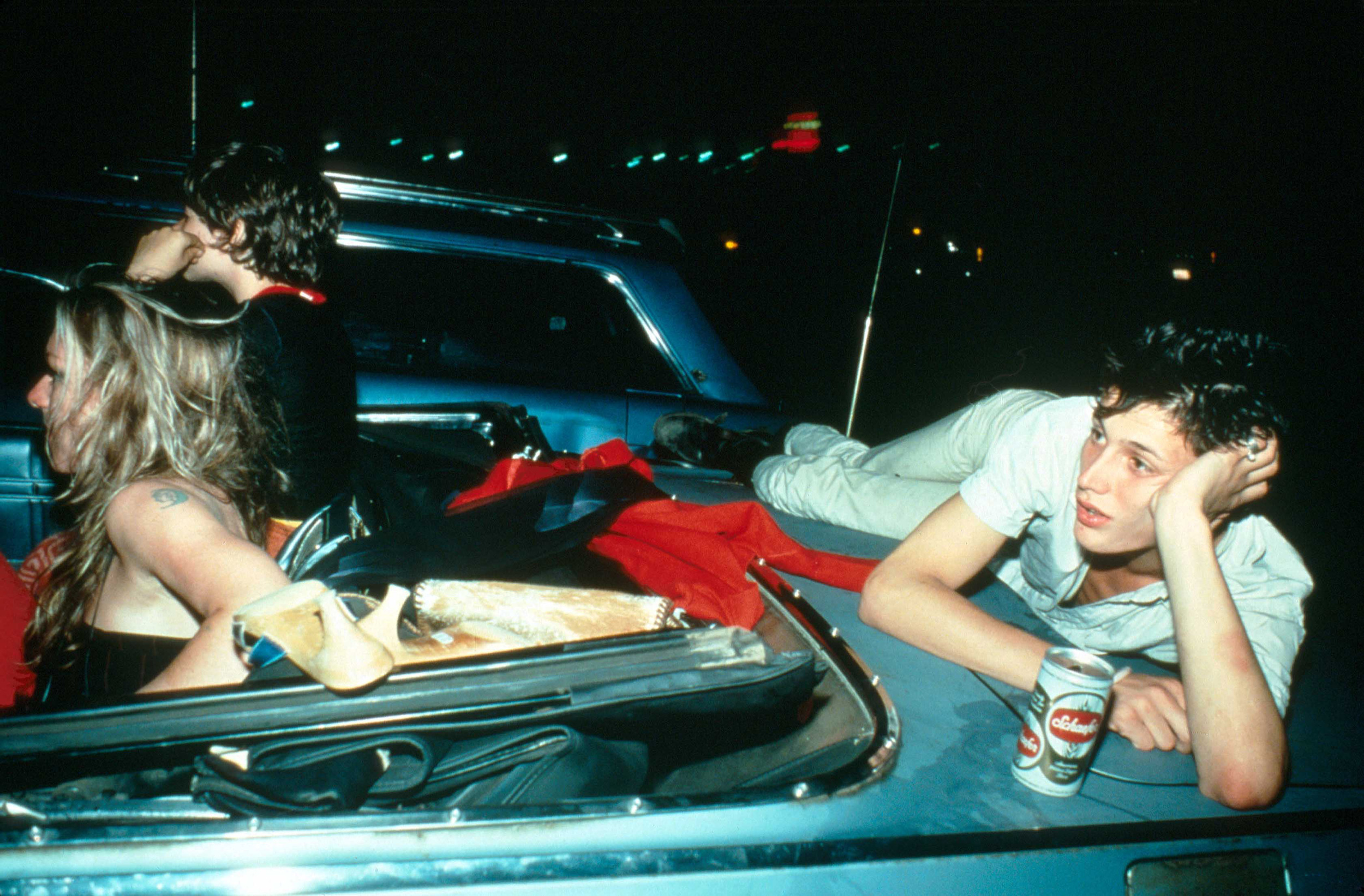 "Nan Goldin ""French Chris at the Drive in New Jersey 1979, courtesy Matthew Marks Gallery New York"