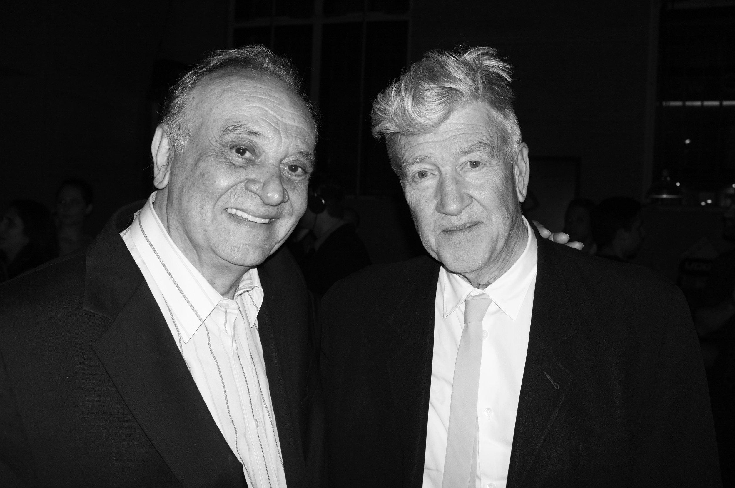 Angelo Badalamenti and David Lynch
