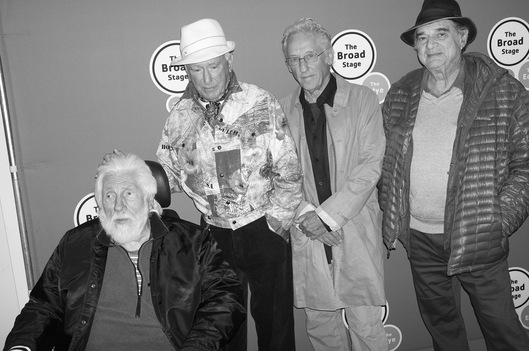 Ed Moses, Billy Al Bengston, Ed Ruscha, and Larry Bell