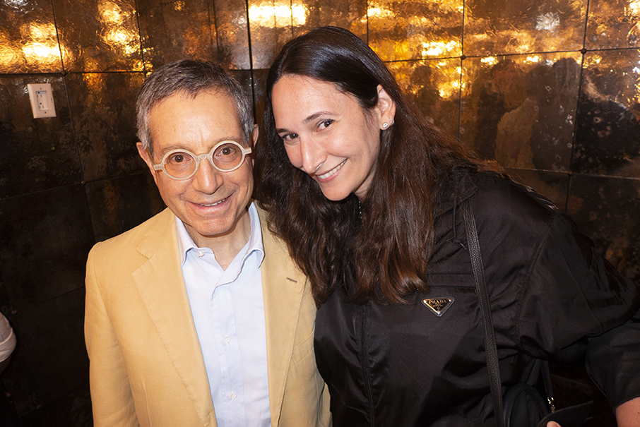 Jeffrey Deitch & Bettina Korek