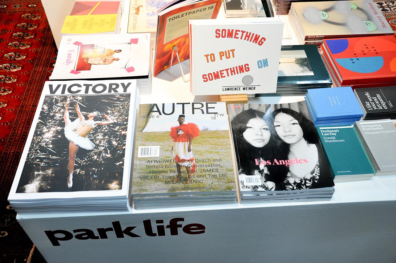 Autre Magazine @ The Parklife Booth