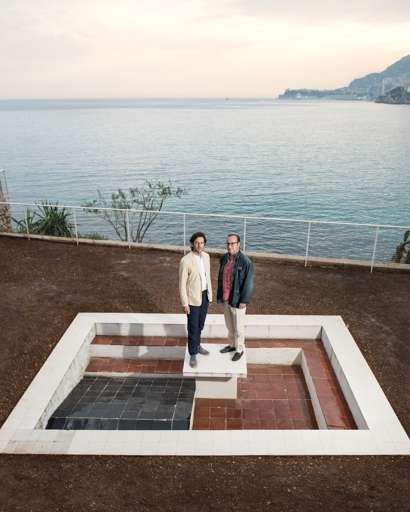 NOMAD_Founders Giorgio Pace and Nicolas Bellavance-Lecompte. Eileen Gray's Villa, 2018. Photographer Giulia Piermatiri.jpg