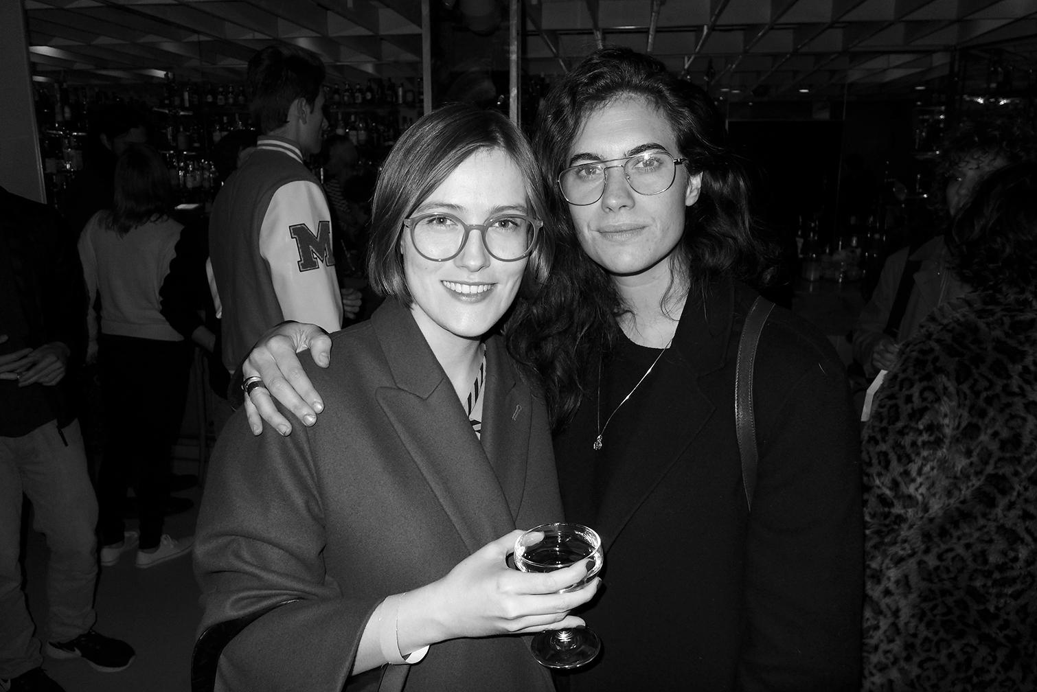 Mathilde Huron and Mattea Perrota