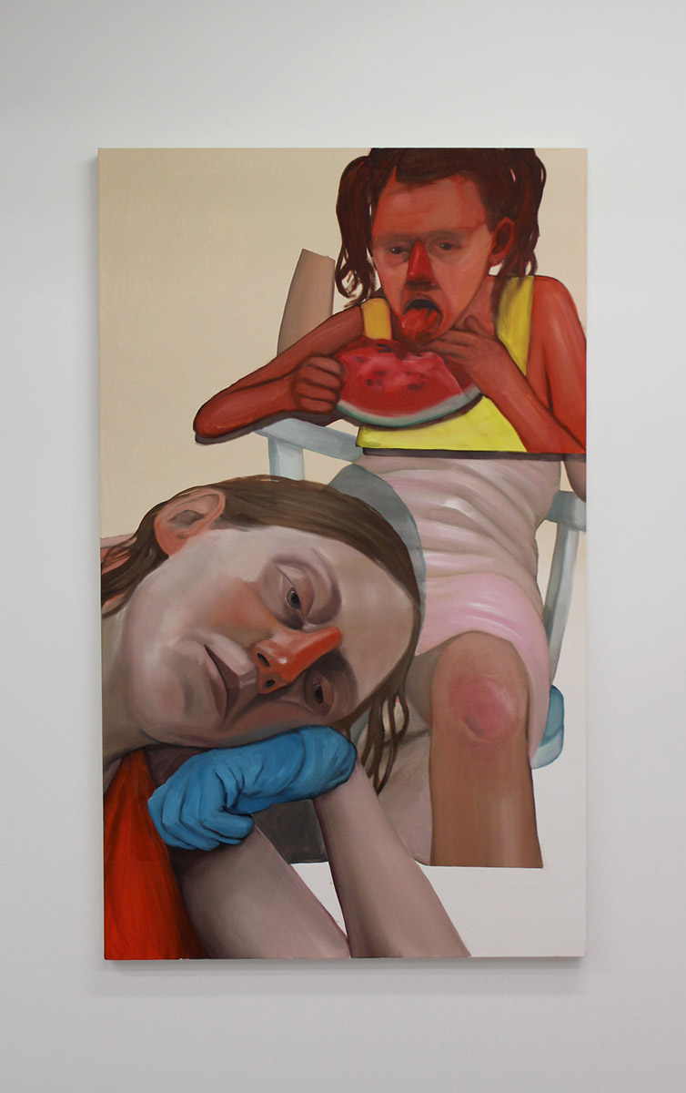 "Anja Salonen ""Self Portrait"" 2017"