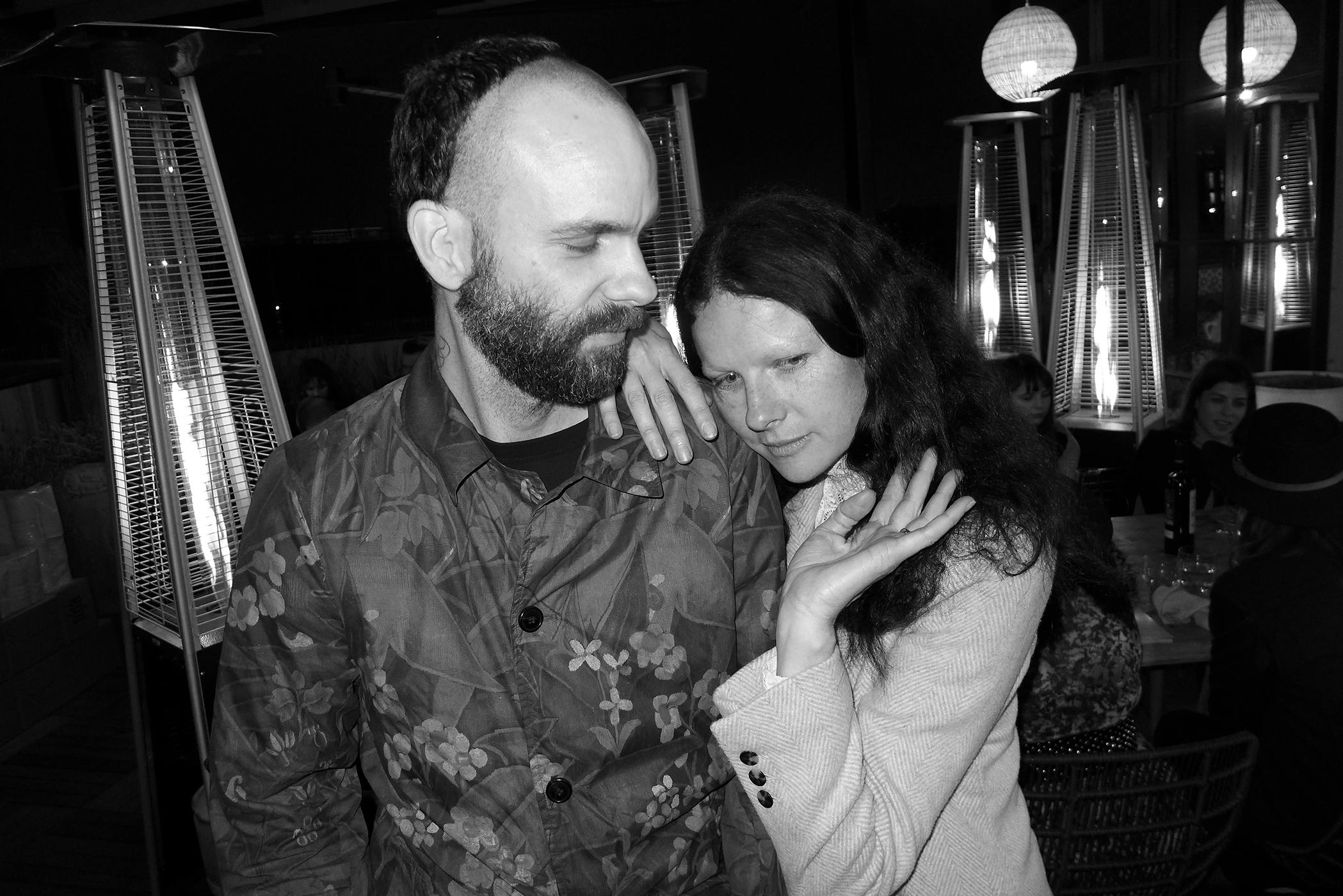 Jon Beasley and Isabelle Albuquerque