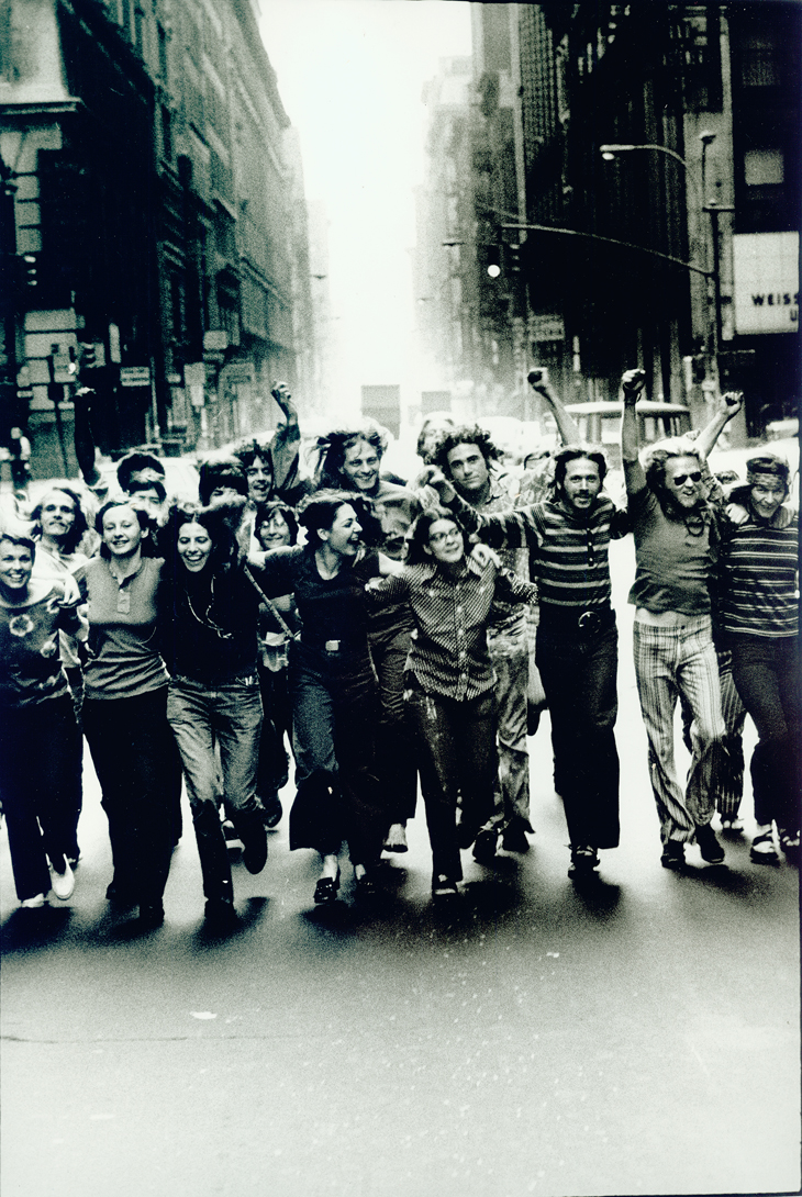 Peter Hujar Gay Liberation Front Poster Image, 1970 Vintage gelatin silver print, 18 x 12 in. Gift of the Peter Hujar Archive, LLC. Collection of Leslie-Lohman Museum
