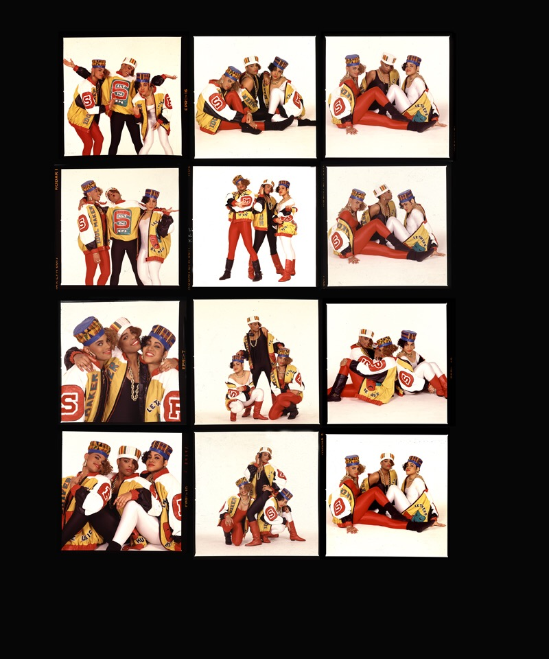 5. Salt-N-Pepa, from the cover shoot for Shake Your Thang, contact sheet (1987). Photo by Janette Beckman..JPG