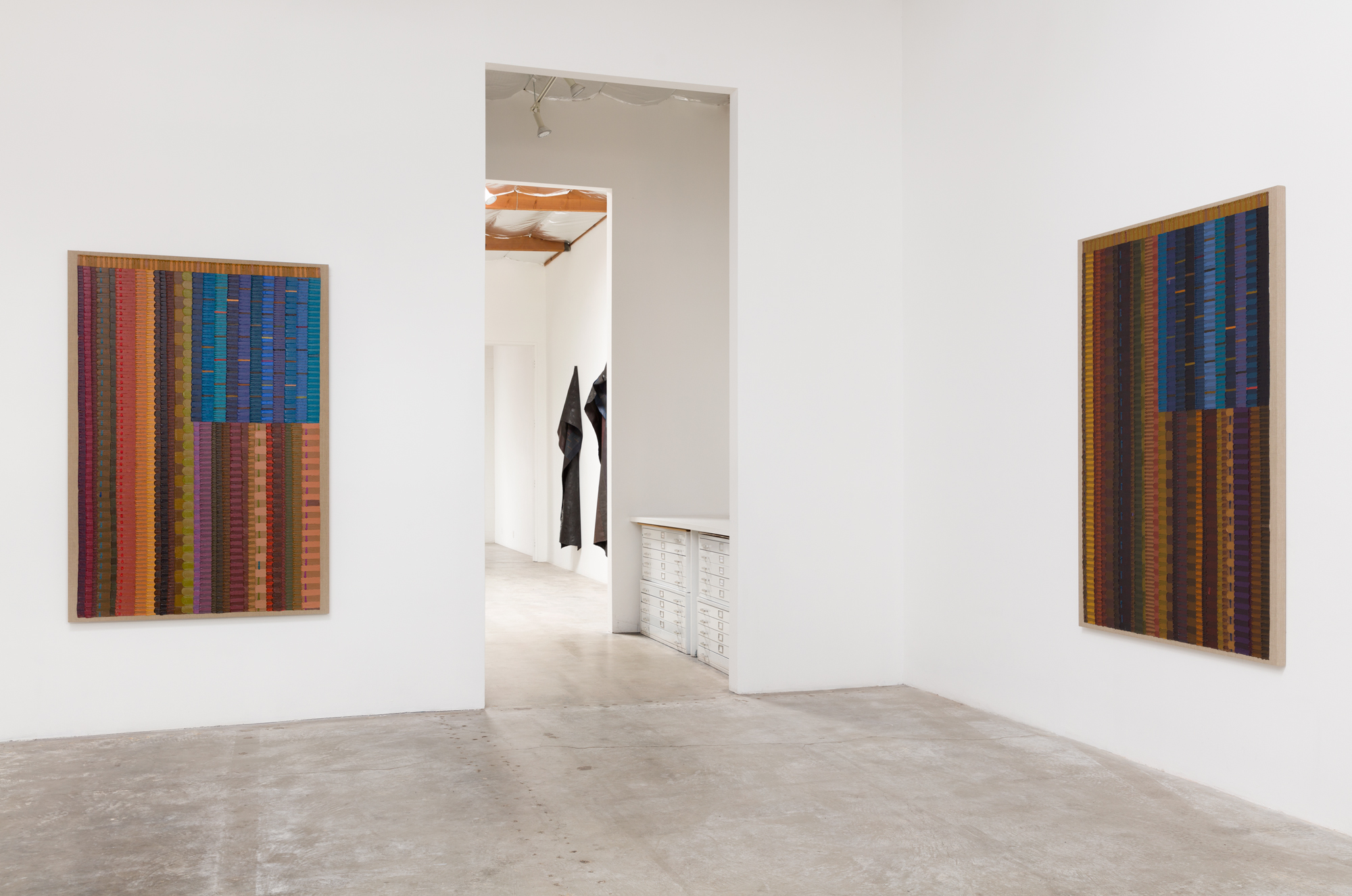 Installation view of JUNE EDMONDS:  Allegiances & Convictions , 2019. Courtesy of Luis De Jesus os Angeles. Photo by Michael Underwood.