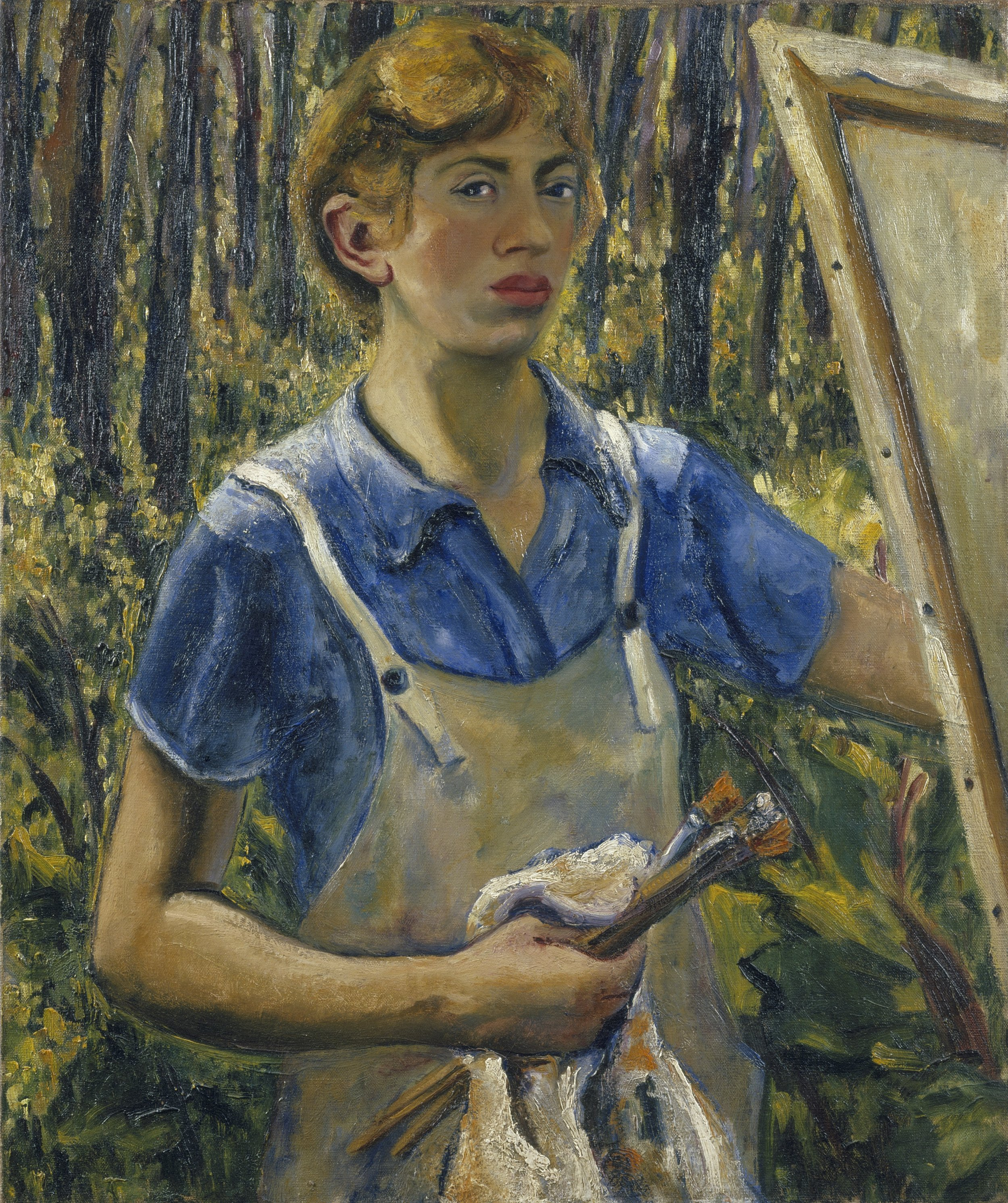 Lee Krasner, Self-Portrait, c. 1928, The Jewish Museum, New York. © The Pollock-Krasner Foundation. Courtesy the Jewish Museum, New York.