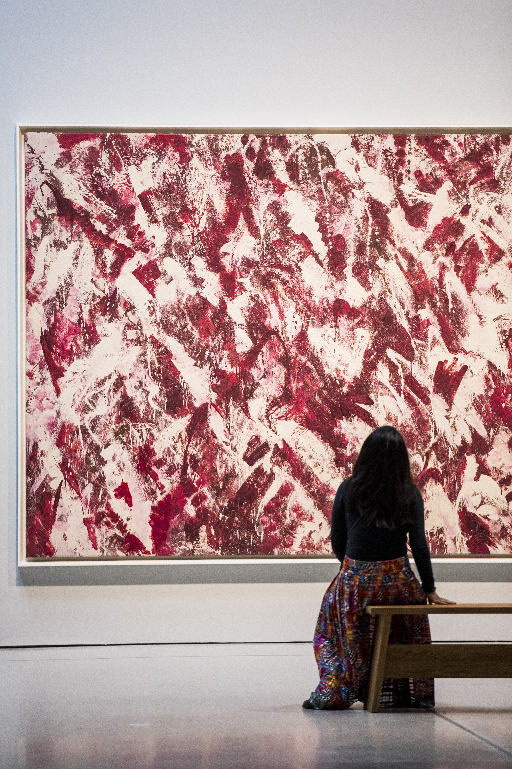 Lee Krasner: Living Colour Installation View with Another Storm, 1963, Barbican Art Gallery 30 May–1 September 2019 © Tristan Fewings/Getty Image