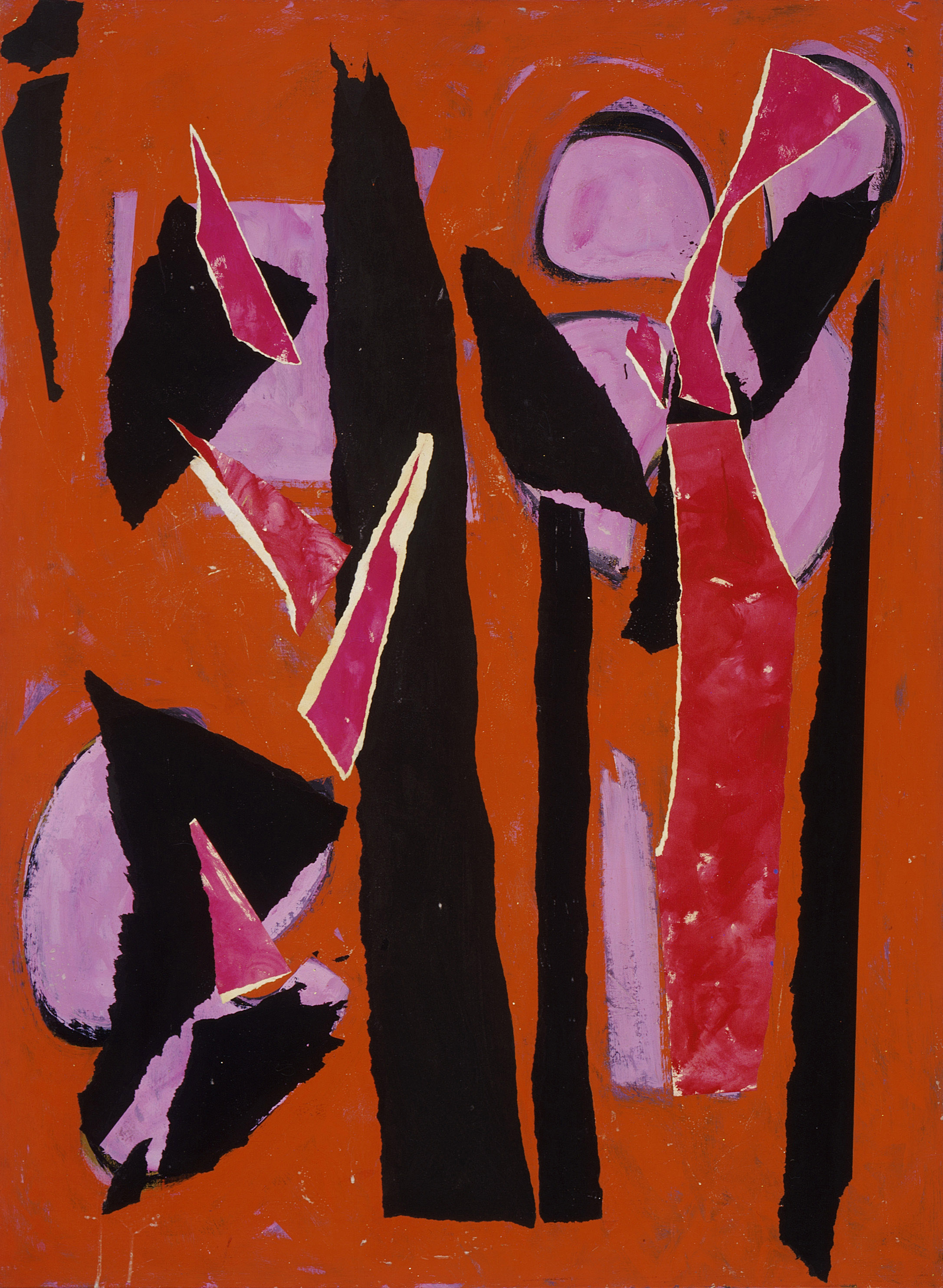 Lee Krasner, Desert Moon, 1955, Los Angeles County Museum of Art. © The Pollock-Krasner Foundation. © 2018. Digital Image Museum Associates/LACMA/Art Resource NY/ Scala, Florence.