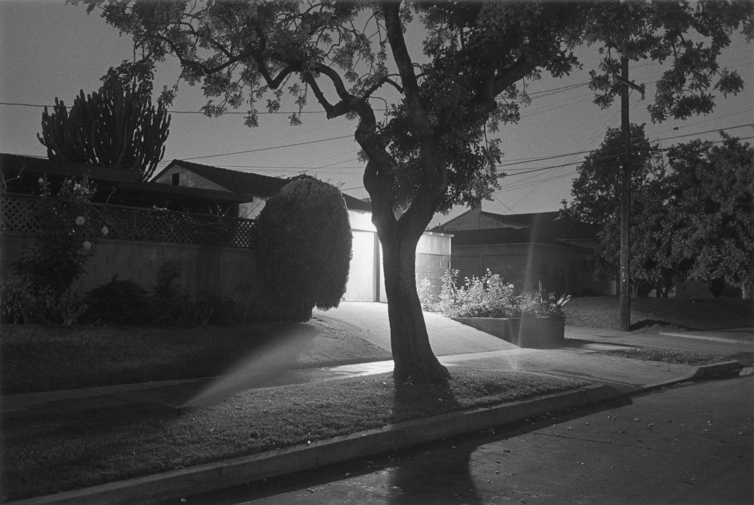 Night Walk No. 5,   1998, De la série   Sunset Park   © Henry Wessel; courtesy Pace/MacGill Gallery, New York