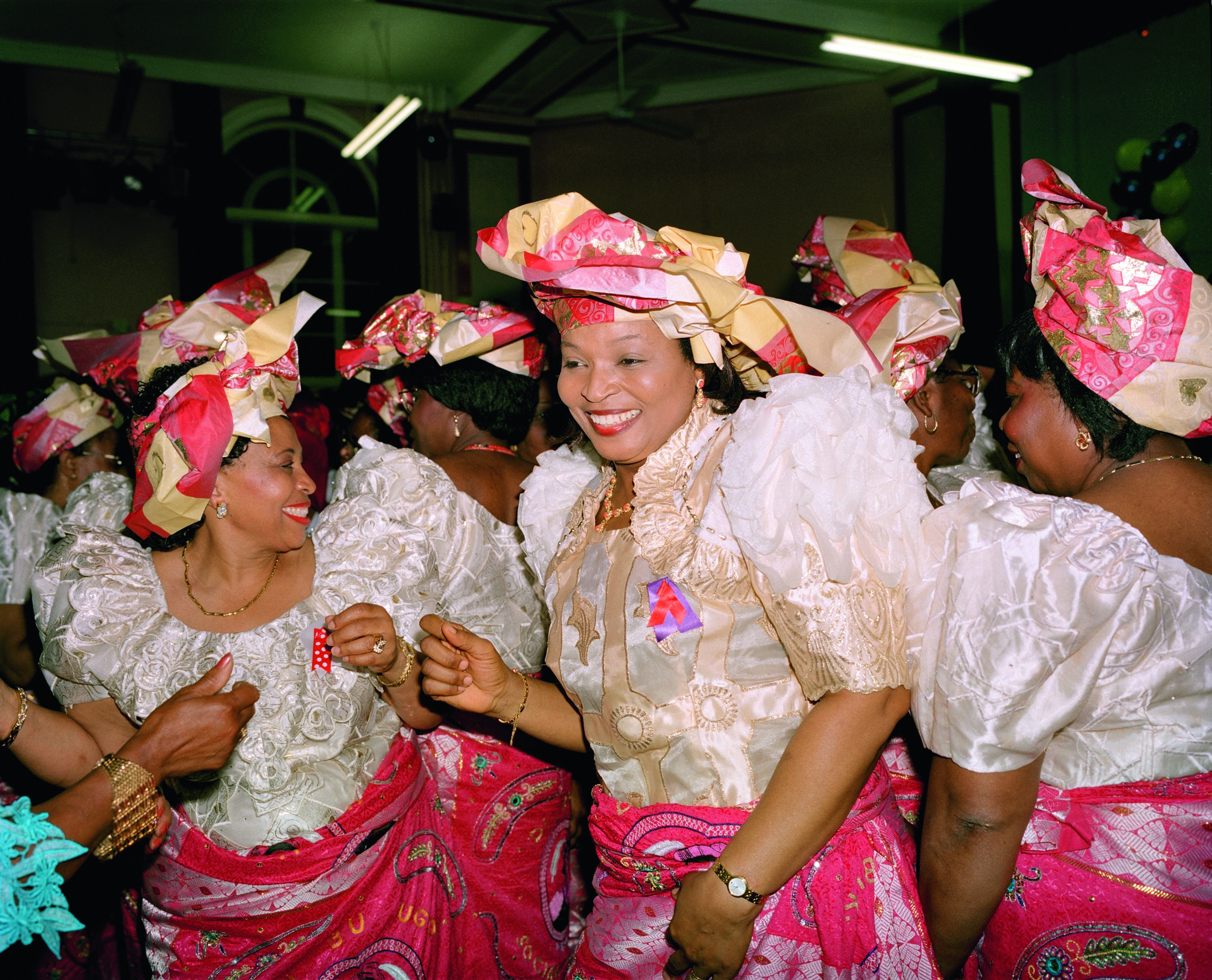 Liz Johnson Artur, Nigerian Party 2, 1995. Courtesy the artist.