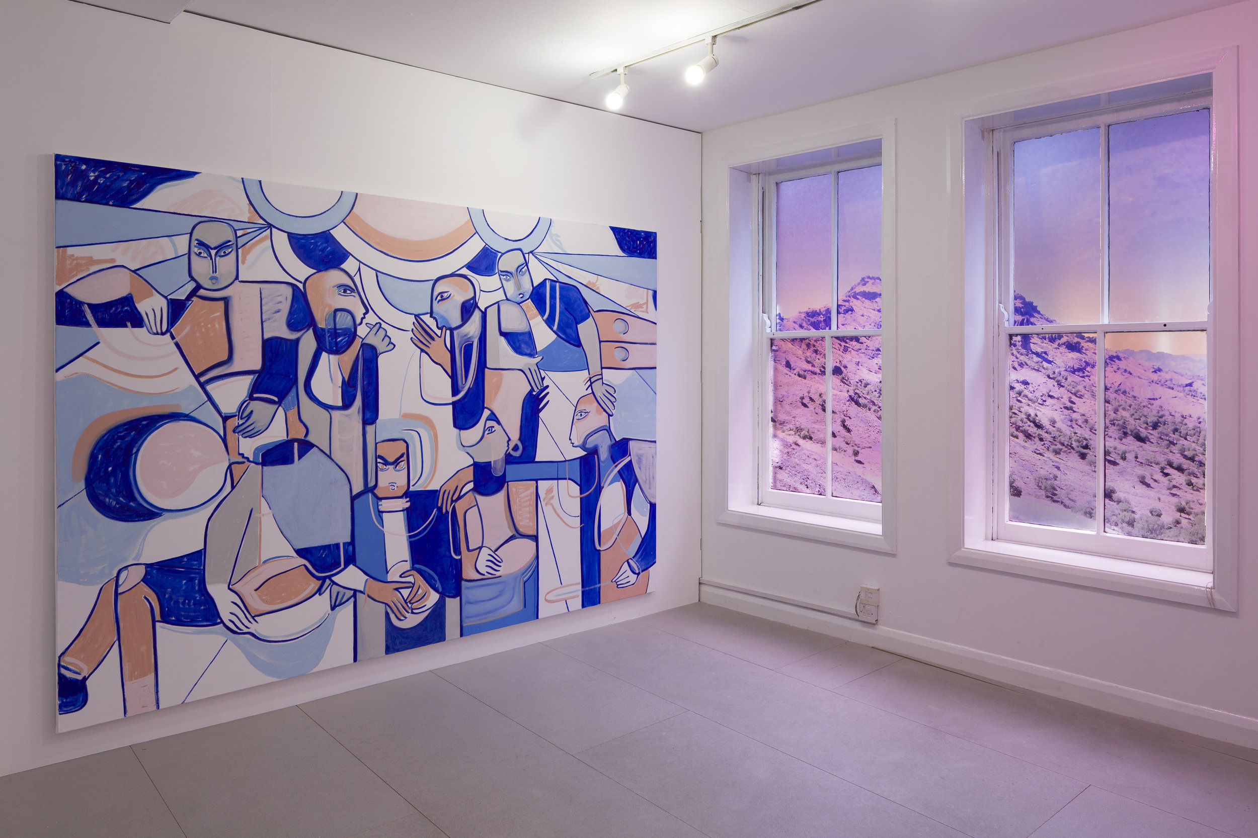 Melike Kara, My beloved wild valley, installation view at Arcadia Missa, 2019 @Ollie Hammick