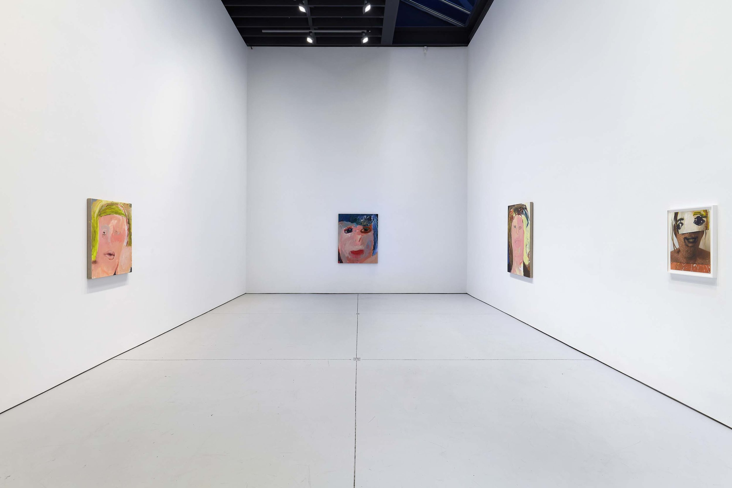 "Margot Bergman, ""Family Album,"" installation view, 2019, courtesy of the artist and Anton Kern Gallery"